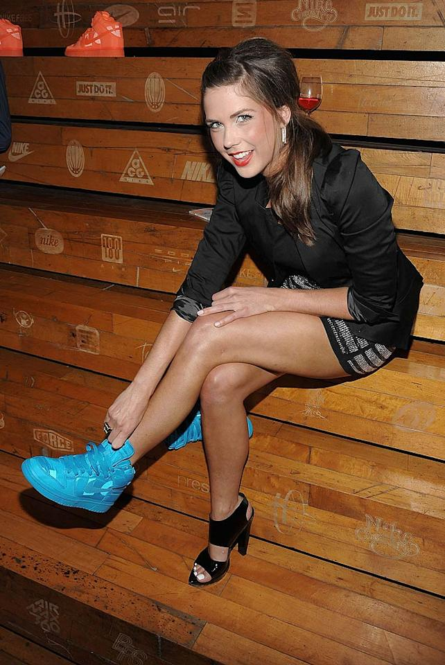 """Meanwhile, Erin Lucas is leaving a show. The former mtvU host has taped her last episode of """"The City"""" after reportedly having a falling out with the reality series' star, Whitney Port. Jamie McCarthy/<a href=""""http://www.wireimage.com"""" target=""""new"""">WireImage.com</a> - June 30, 2009"""