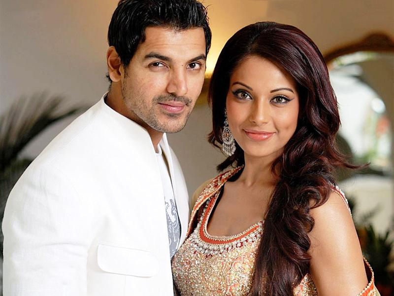 John Abraham and Bipasha Basu.