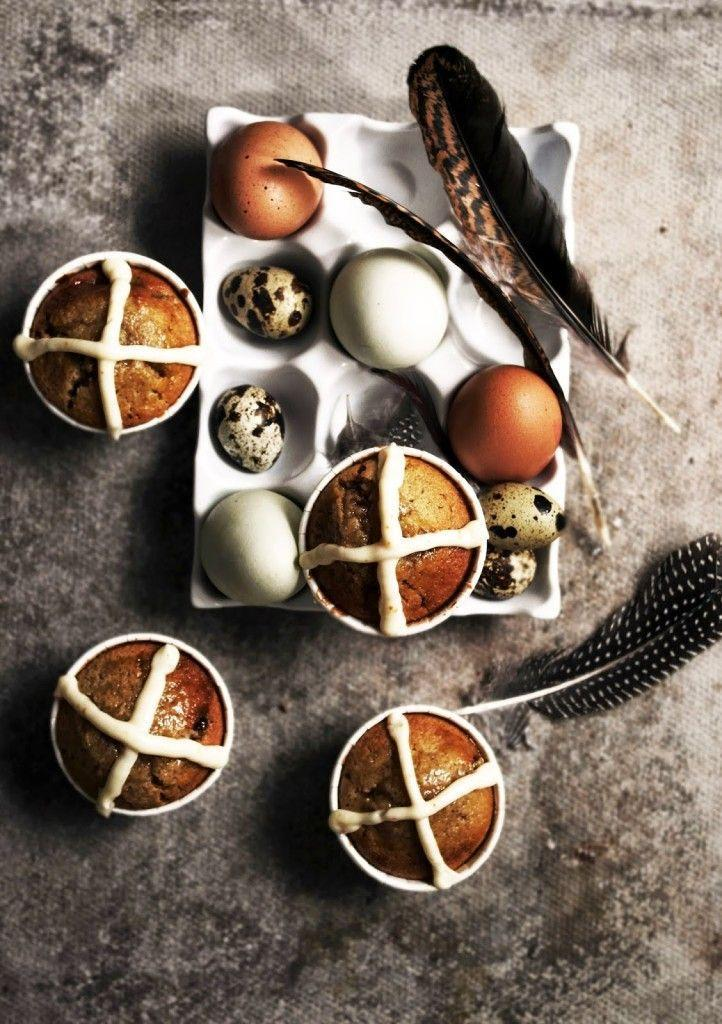 """<p>The classic Easter treat gets the cupcake treatment and our minds are blown. (And if you want to make the old-school version, <a href=""""https://www.goodhousekeeping.com/food-recipes/a48163/iced-hot-cross-buns-recipe/"""" rel=""""nofollow noopener"""" target=""""_blank"""" data-ylk=""""slk:give this recipe a try"""" class=""""link rapid-noclick-resp"""">give this recipe a try</a>.)</p><p><em><span>Get the recipe from Twigg Studios »</span></em><br></p>"""