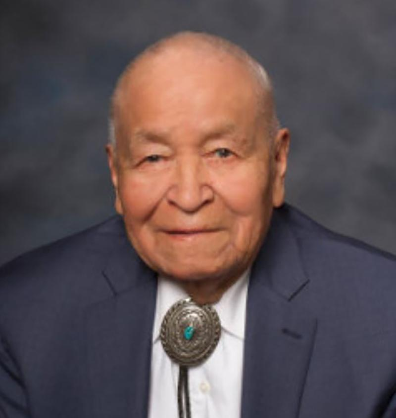 New Mexico State Senator John Pinto, who served as a Navajo code talker during World War II, has died at age 94, his party announced