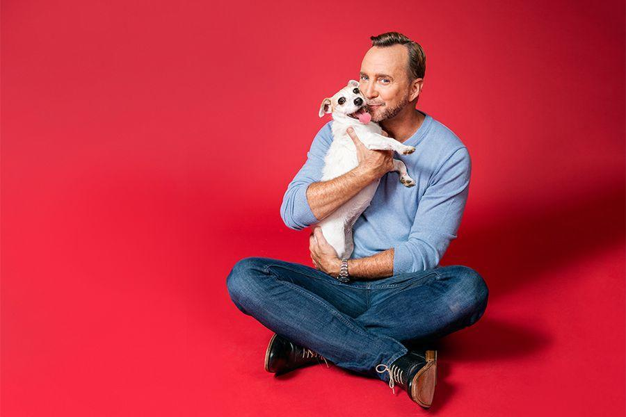 """<p>""""Love ya, Clinton!""""</p><p>For more pups, check out Grace's photoshoot of Clinton Kelly's WD <a rel=""""nofollow noopener"""" href=""""https://www.womansday.com/life/pet-care/g2731/clinton-kelly-pet-rescue/"""" target=""""_blank"""" data-ylk=""""slk:pet makeover"""" class=""""link rapid-noclick-resp"""">pet makeover</a>. <br></p>"""