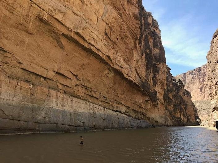 The Rio Grande at Big Bend National Park in Texas.