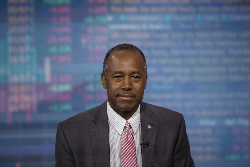 """Ben Carson, secretary of housing and urban development, said people are just """"stupid"""" when they say he's not qualified to lead the nation'shousing agency."""