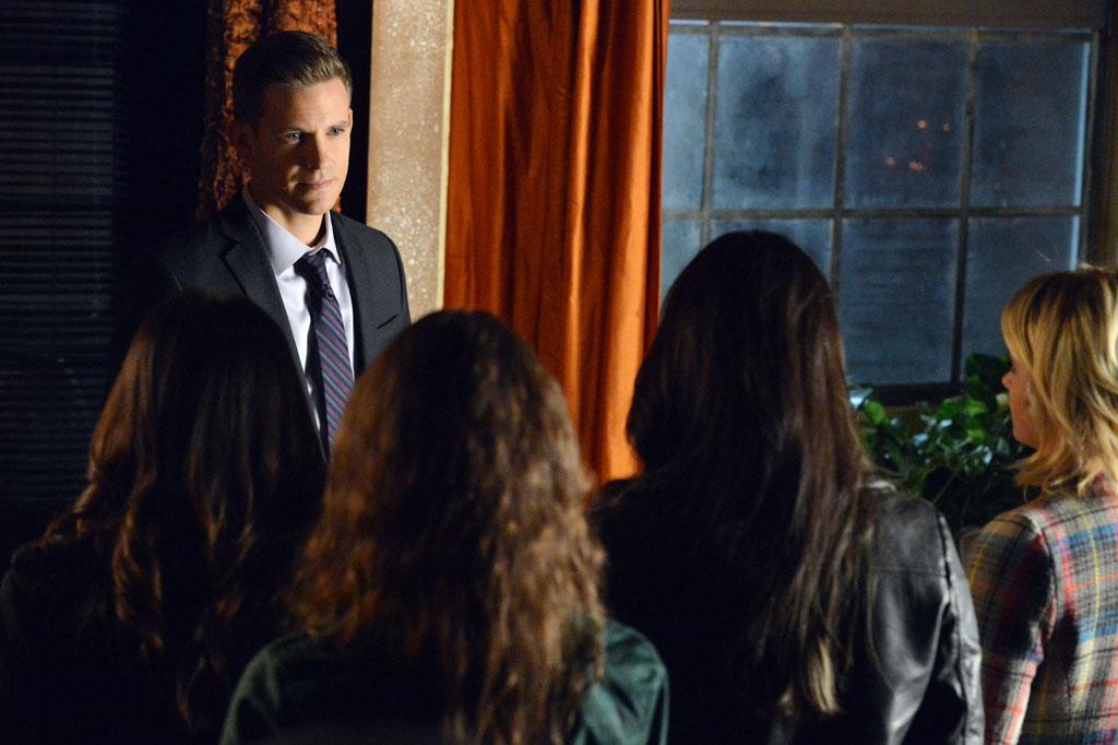 """""""Hot Water"""" - Tensions rise to the boiling point for Aria, Emily, Hanna and Spencer, in """"Hot Water,"""" an all new episode of ABC Family's hit original series """"Pretty Little Liars."""""""