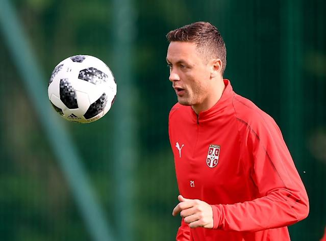 Nemanja Matic says Serbia face a 'hellish' World Cup encounter against Switzerland (AFP Photo/ATTILA KISBENEDEK)