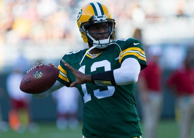 Vince Young throws first touchdown in NFL game since 2011 during Packers' preseason loss