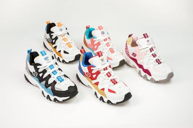 Skechers Korea Teams up with One Piece for a Limited Edition