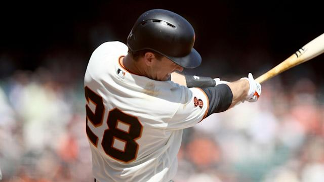 Tuesday marked the first day Posey was eligible to return to the lineup.
