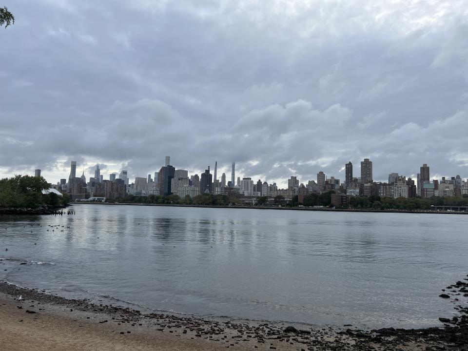 A photo of the New York skyline taken with the iPhone 13 Pro Max's wide-angle lens. (Image: Howley)