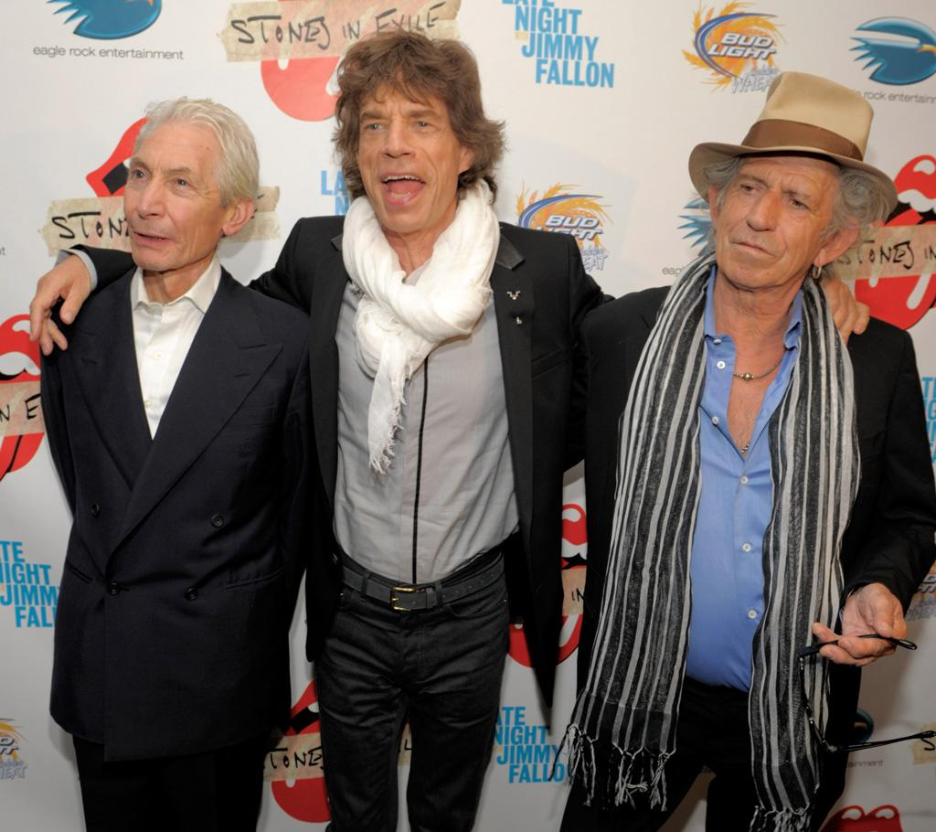 """<a href=""""http://www.gossipcop.com/rolling-stones-retiring-50-years-farewell-tour-mick-jagger-keith-richards/"""" target=""""new"""">Gossip Cop</a> has the full scoop about the Rolling Stones retiring """"after 50 years in music -- with a giant farewell tour,"""" as noted in <i>The Sun</i> and other media outlets. <a href=""""http://www.wireimage.com"""" target=""""new"""">WireImage.com</a> - May 11, 2010"""