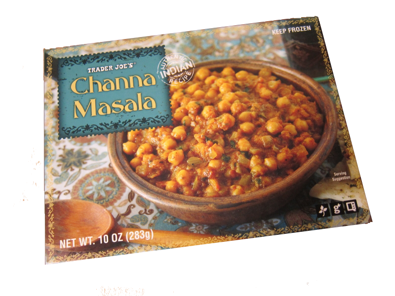 <p>Vegetarians, this is such a clutch meal to have on hand. The chickpeas are super filling and there's more protein than rice, which is a rare find. Overall, Trader Joe's Indian meals are on point.</p>