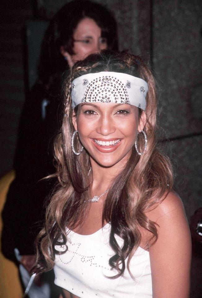 <p>Le look de «Jenny from the Block» aux MTV Music Awards.</p><br/>
