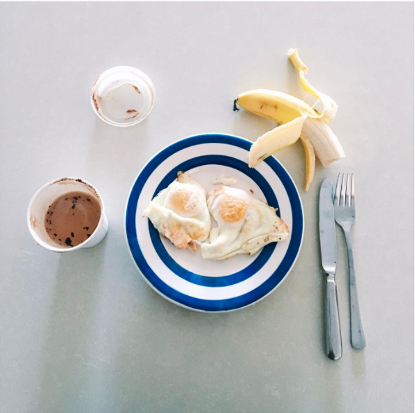 She weighed all her food for about three months. Photo: Instagram