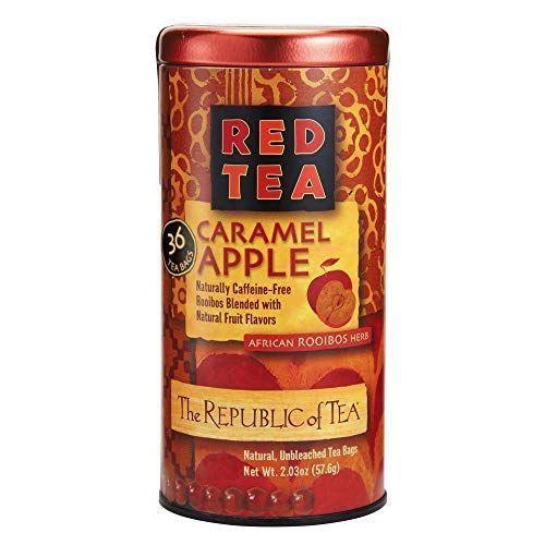 """<p><strong>The Republic of Tea</strong></p><p>amazon.com</p><p><strong>$11.75</strong></p><p><a href=""""https://www.amazon.com/dp/B002L2ABH2?tag=syn-yahoo-20&ascsubtag=%5Bartid%7C10050.g.22666197%5Bsrc%7Cyahoo-us"""" rel=""""nofollow noopener"""" target=""""_blank"""" data-ylk=""""slk:Shop Now"""" class=""""link rapid-noclick-resp"""">Shop Now</a></p><p>Who doesn't love a caramel apple with all of the taste but none of the calories?</p>"""