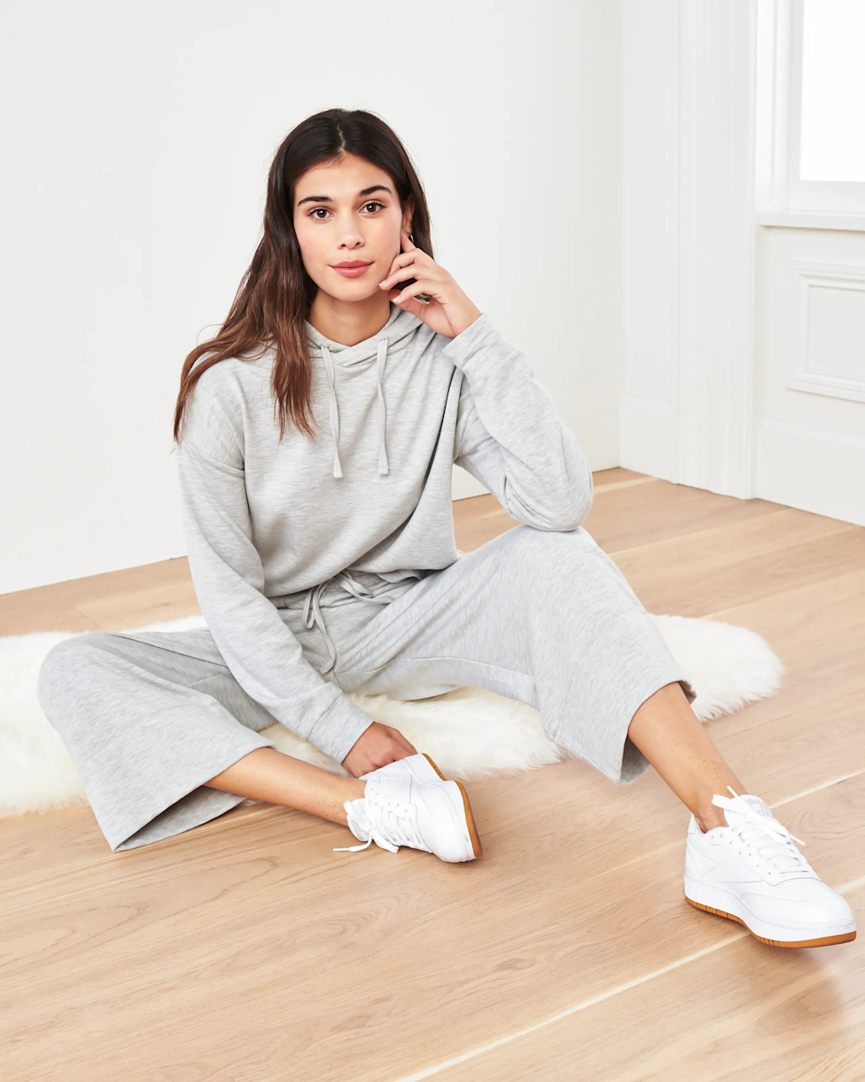 "<h3>Quince</h3><br>Quince is one of our favorite online retailers for high-quality basics at pocket-friendly prices, and they make a curated selection of loungewear staples worth your dollars. <br><br><em>Shop </em><strong><em><a href=""https://www.onequince.com/"" rel=""nofollow noopener"" target=""_blank"" data-ylk=""slk:Quince"" class=""link rapid-noclick-resp"">Quince</a></em></strong><em><br></em><br><br><br><strong>Quince</strong> SuperSoft Fleece Wide Leg Pants, $, available at <a href=""https://go.skimresources.com/?id=30283X879131&url=https%3A%2F%2Fwww.onequince.com%2Fwomen%2Fsupersoft-fleece-wide-leg-pants"" rel=""nofollow noopener"" target=""_blank"" data-ylk=""slk:Quince"" class=""link rapid-noclick-resp"">Quince</a><br><br><strong>Quince</strong> SuperSoft Fleece Pullover Hoodie, $, available at <a href=""https://go.skimresources.com/?id=30283X879131&url=https%3A%2F%2Fwww.onequince.com%2Fwomen%2Fsupersoft-fleece-pullover-hoodie%3F"" rel=""nofollow noopener"" target=""_blank"" data-ylk=""slk:Quince"" class=""link rapid-noclick-resp"">Quince</a>"