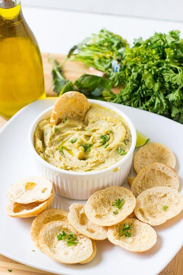 "<p>Just a few ingredients, and 15 minutes, makes an ultra-creamy app that'll be a total hit.</p><p><em><a href=""https://jessicainthekitchen.com/roasted-garlic-white-bean-dip/"" rel=""nofollow noopener"" target=""_blank"" data-ylk=""slk:Get the recipe from Jessica in the Kitchen »"" class=""link rapid-noclick-resp"">Get the recipe from Jessica in the Kitchen »</a></em></p>"
