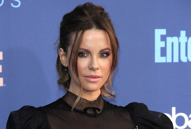 Kate Beckinsale attending the 22nd Annual Critics' Choice Awards in December 2016 (Credit: Dave Bedrosian/Future Image/WENN.com)
