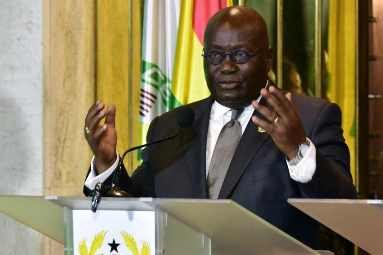 """Ghana's President Nana Akufo-Addo tweeted that Trump's reported language was """"extremely unfortunate"""""""