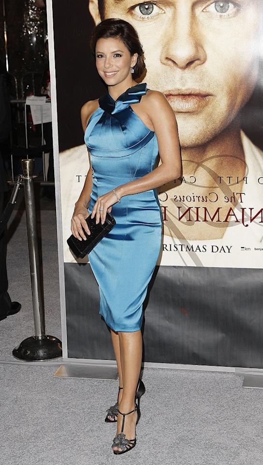 "<a href=""http://movies.yahoo.com/movie/contributor/1804763686"">Eva Longoria Parker</a> at the Los Angeles premiere of <a href=""http://movies.yahoo.com/movie/1809785152/info"">The Curious Case of Benjamin Button</a> - 12/08/2008"
