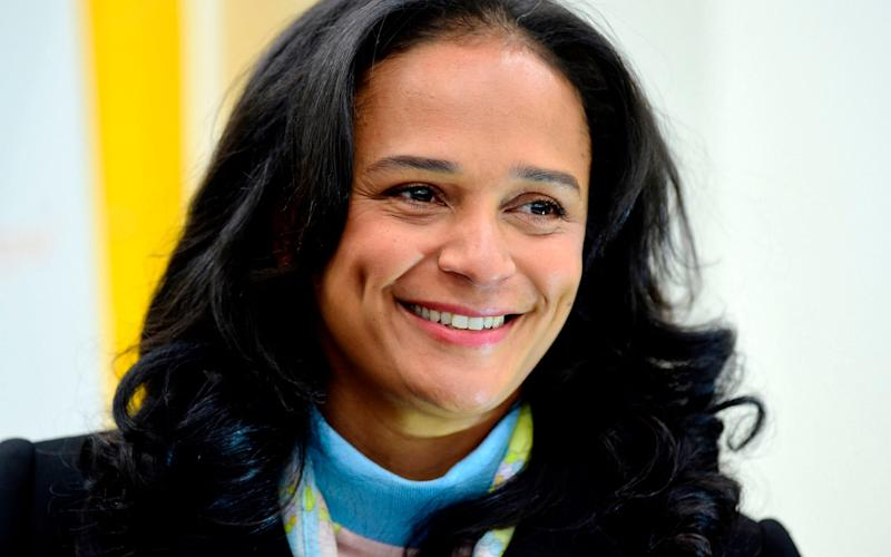 Angolan businesswoman Isabel dos Santos faces allegations of corruptions after 700,000 documents detailing her business interests were leaked to the media - AFP