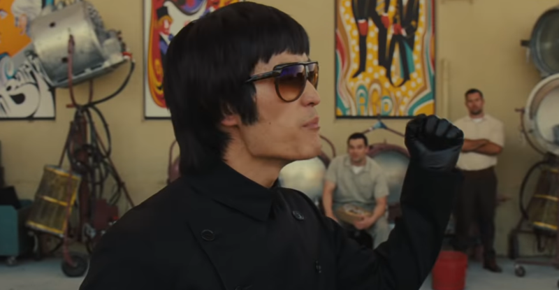 Mike Moh as Bruce Lee in a controversial scene from 'Once Upon a Time in Hollywood' (Photo: Sony Pictures/YouTube)