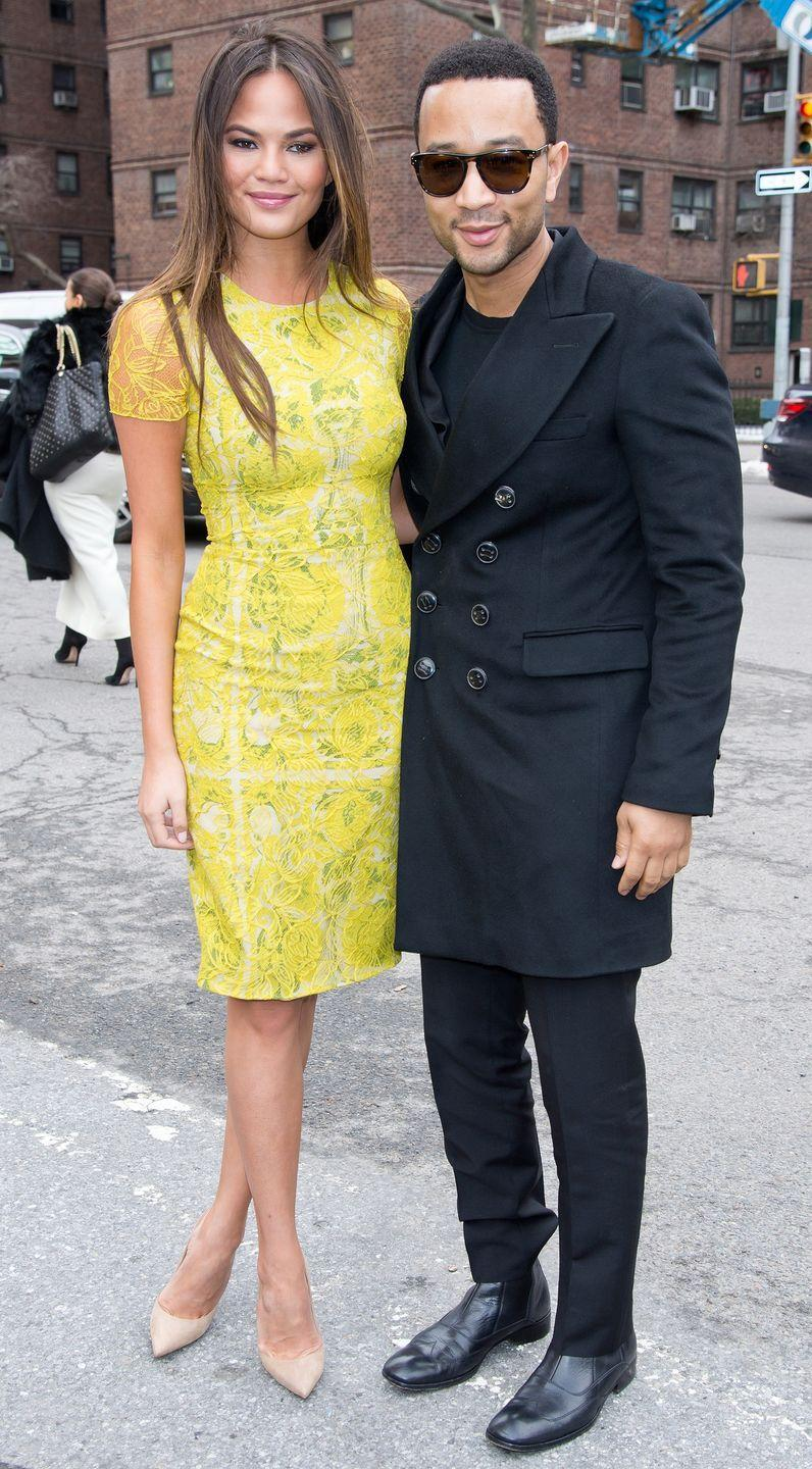 <p>At New York Fashion Week during the year they got married in a lavish Italian wedding ceremony.</p>
