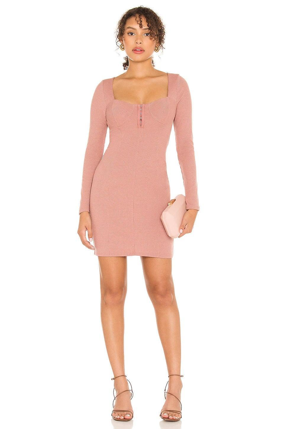 <p>The <span>ASTR the Label Hook &amp; Eye Bodycon Dress</span> ($45, originally $75) has such a flattering neckline that will make you look and feel your best. It also comes in a neutral taupe color. </p>
