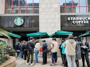 """<p>On May 17, Starbucks made <a href=""""http://stories.starbucks.com/press/2020/what-customers-need-to-know-about-starbucks-response-to-covid-19/"""" class=""""link rapid-noclick-resp"""" rel=""""nofollow noopener"""" target=""""_blank"""" data-ylk=""""slk:masks optional to those who are fully vaccinated"""">masks optional to those who are fully vaccinated</a> unless local regulations or law require otherwise. For general safety, bathrooms will remain closed in stores where there is no cafe seating.</p>"""