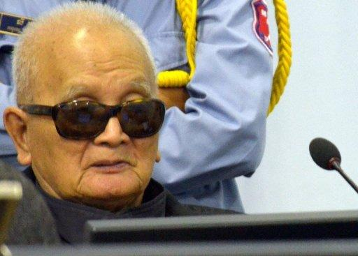 """Brother Number Two"" Nuon Chea has denied charges including war crimes and genocide"