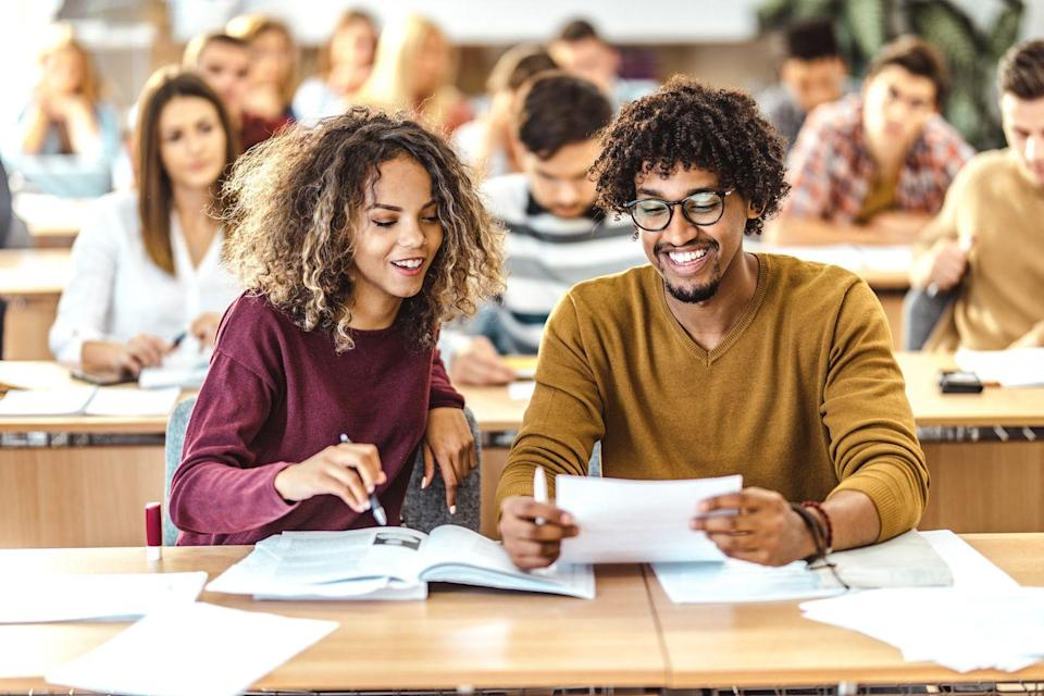 """<p>Prepare for your next overseas trip by trying an online language class, using your favorite language app, or<a href=""""https://www.meetup.com"""" rel=""""nofollow noopener"""" target=""""_blank"""" data-ylk=""""slk:signing up for a group gathering via Meetup.com"""" class=""""link rapid-noclick-resp""""> signing up for a group gathering via Meetup.com</a>. They're usually pretty short and you can practice saying sweet things afterward.</p>"""