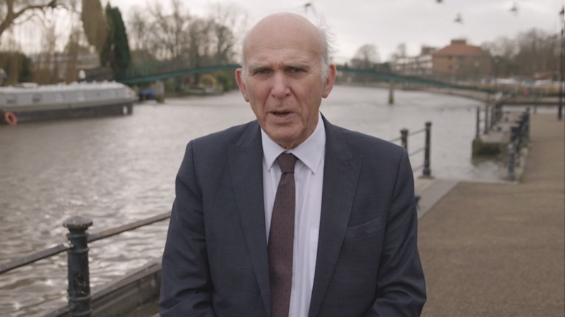 we have 90 days to change the course of this country sir vince cable