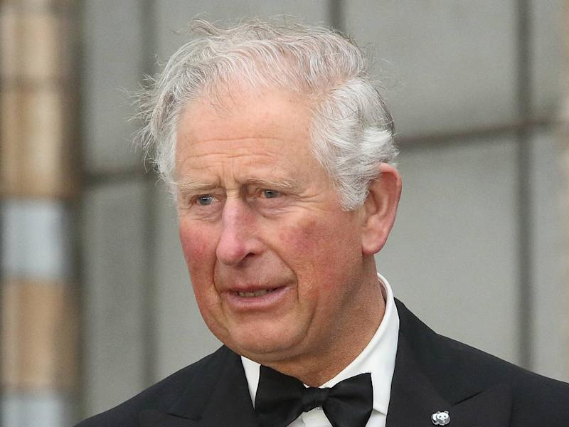 Prince Charles helps launch new fashion collection
