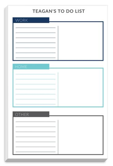 The Stationery Studio Organizer Tabs List Notepads