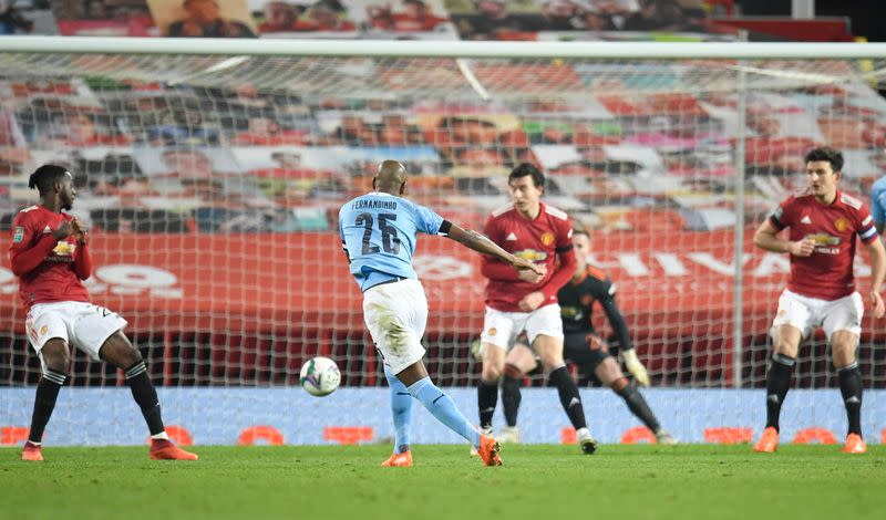 Carabao Cup - Semi Final - Manchester United v Manchester City