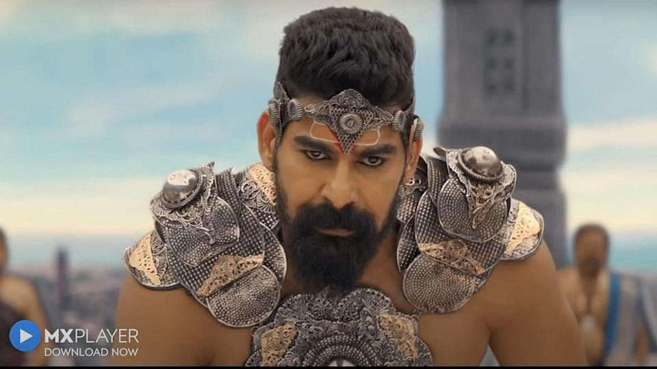 """<div class=""""paragraphs""""><p>Narrated over eight episodes, Ramyug is India's first mythological web-series and an ambitious production.</p></div>"""