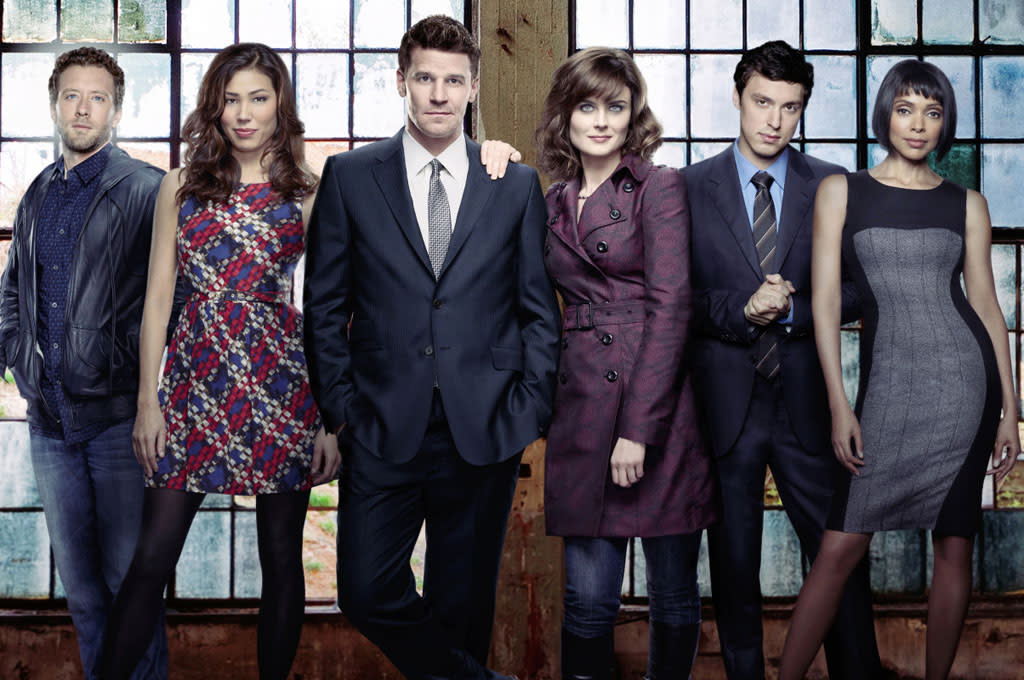 "The cast of ""Bones"" Season 8."
