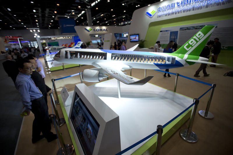 Delivery of first China jetliner delayed again