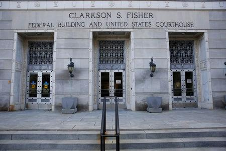 The exterior of the Clarkson S. Fisher Building and U.S. Courthouse, where Rutgers University student Paras Jha had a hearing, is seen in Trenton, New Jersey, U.S., December 13, 2017. REUTERS/Dominick Reuter