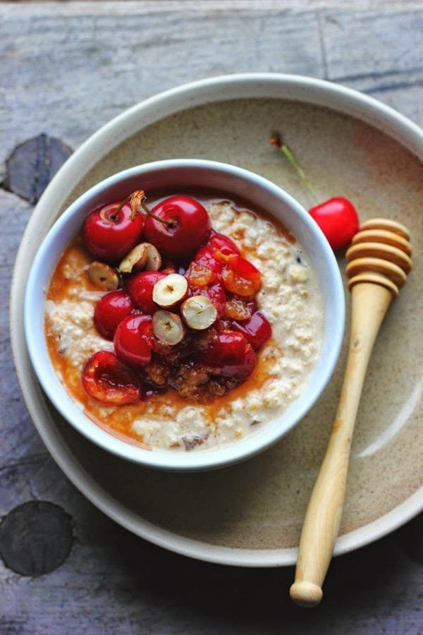 overnight orchard cherry oats
