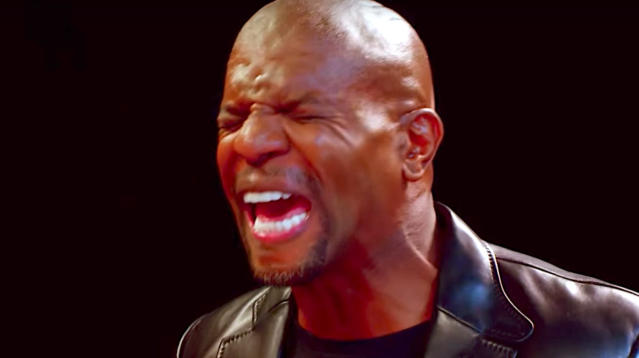 Terry Crews survived the NFL and admits he beat the odds to become a TV star.