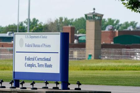 """The Federal Corrections Complex, from where John Walker Lindh, known as the """"American Taliban"""" will leave tomorrow, is seen in Terre Haute, Indiana, U.S. May 22, 2019. REUTERS/Bryan Woolston"""