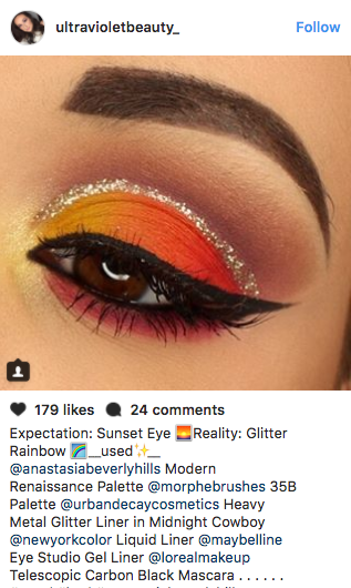 Gorgeous sunset pics are one of Instagram's biggest obsessions, but this is a whole new thing.