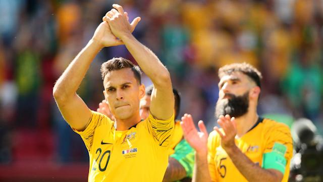 VAR received attention during Australia's defeat to France, but Trent Sainsbury has sympathy with the referees over the technology.