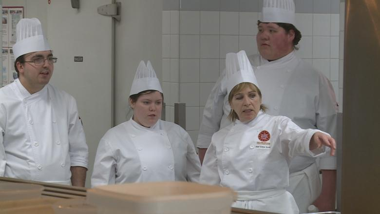 Tourism Industry Association of PEI training young people to work in kitchens