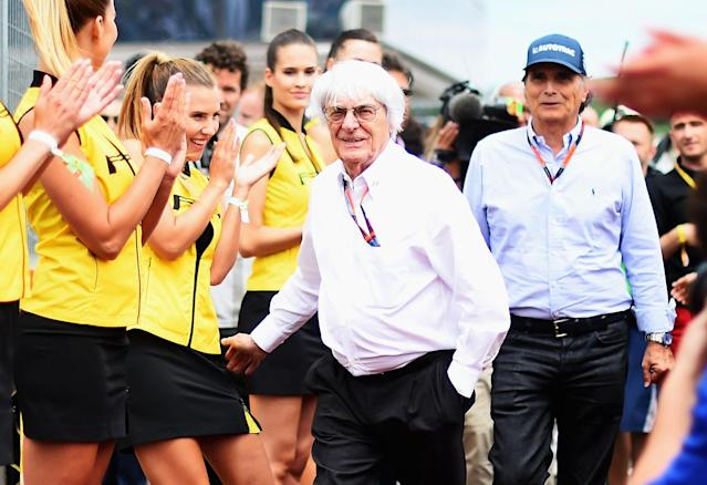 Bernie Ecclestone was the boss of Formula 1 until it was purchased by Liberty Media. (Getty Images)