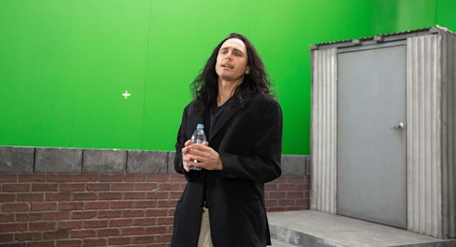 """James Franco never really went anywhere,but the one-two heft of """"The Deuce"""" and """"The Disaster Artist"""" lends him a decent comeback narrative nonetheless. He's especially great in the latter, uncannily playing <span>Tommy Wiseau</span>, who helmed the proverbial worst-film-ever-made, """"The Room.""""Franco is electric in the role, a bravura sendup that typical biopic performances don't oftennail. The academy loves movies about movies, and """"Artist"""" has an accessibility that should appeal to mainstream audiences when it opens next month."""
