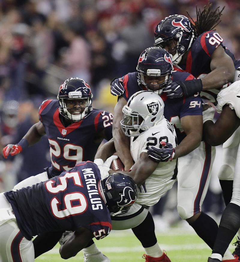 Even without injured J.J. Watt, the Houston Texans' strength is their defense. (AP)