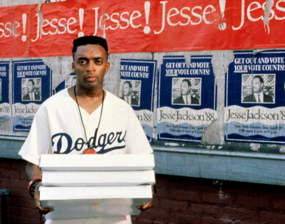 Spike Lee on the set of his 1989 film, 'Do the Right Thing' (Photo: Universal/Courtesy Everett Collection)