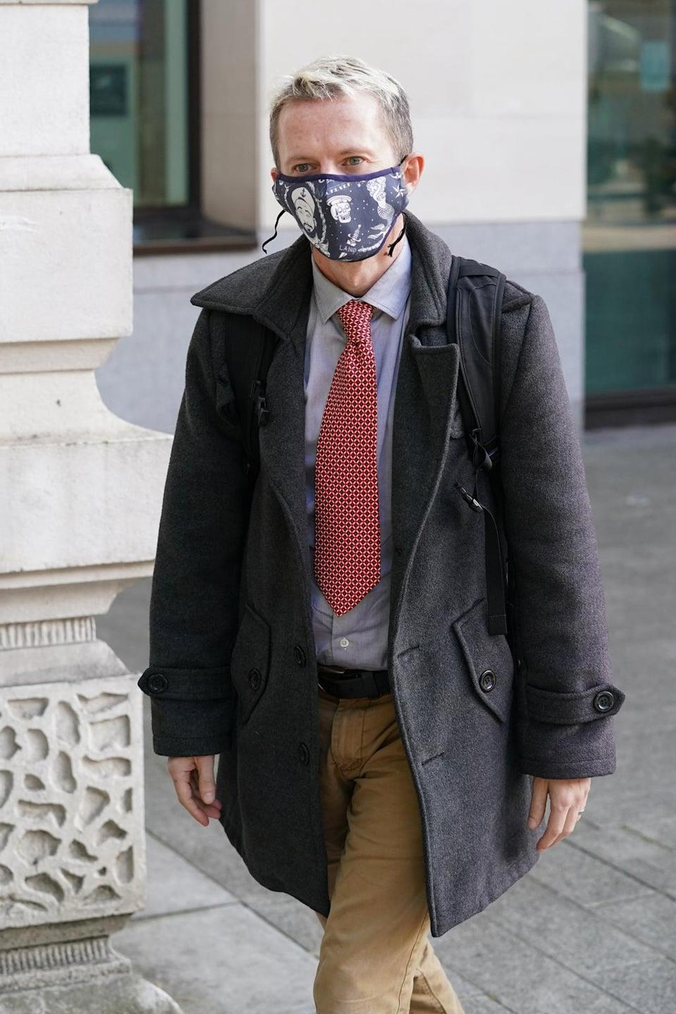 David Knott was found guilty of harassment last month (PA) (PA Wire)