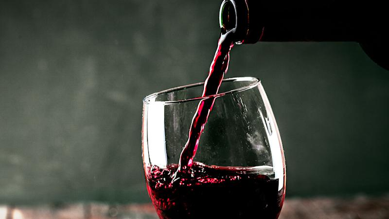Is This the End of Wine Drips Down the Side of the Bottle?